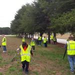Cub Scouts Litter Cleanup