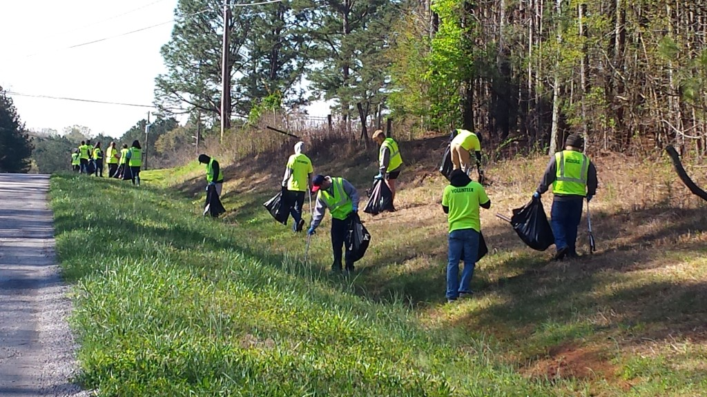 KCB Litter Cleanup