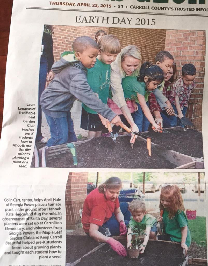 Carrollton Elementary Community Garden