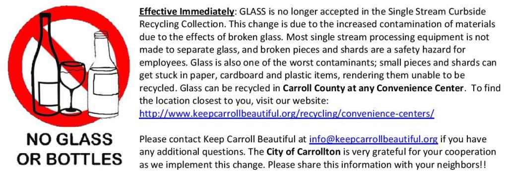 No Glass Insert