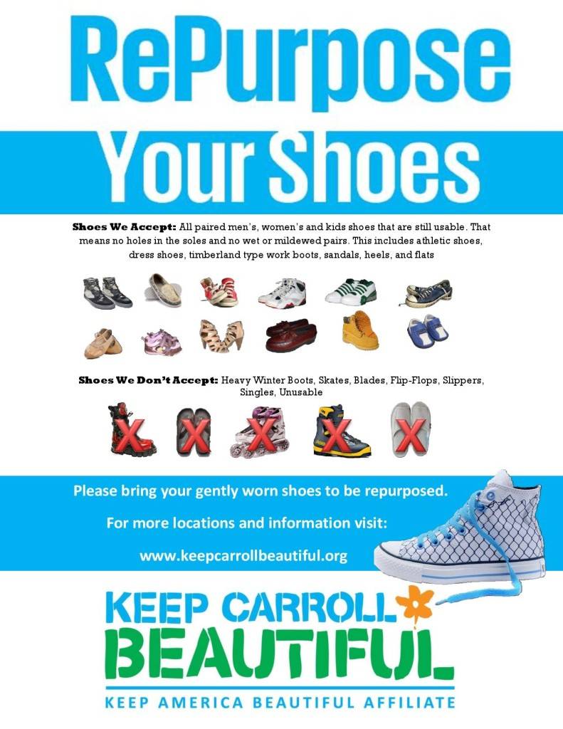 Shoe Recycling Flyer
