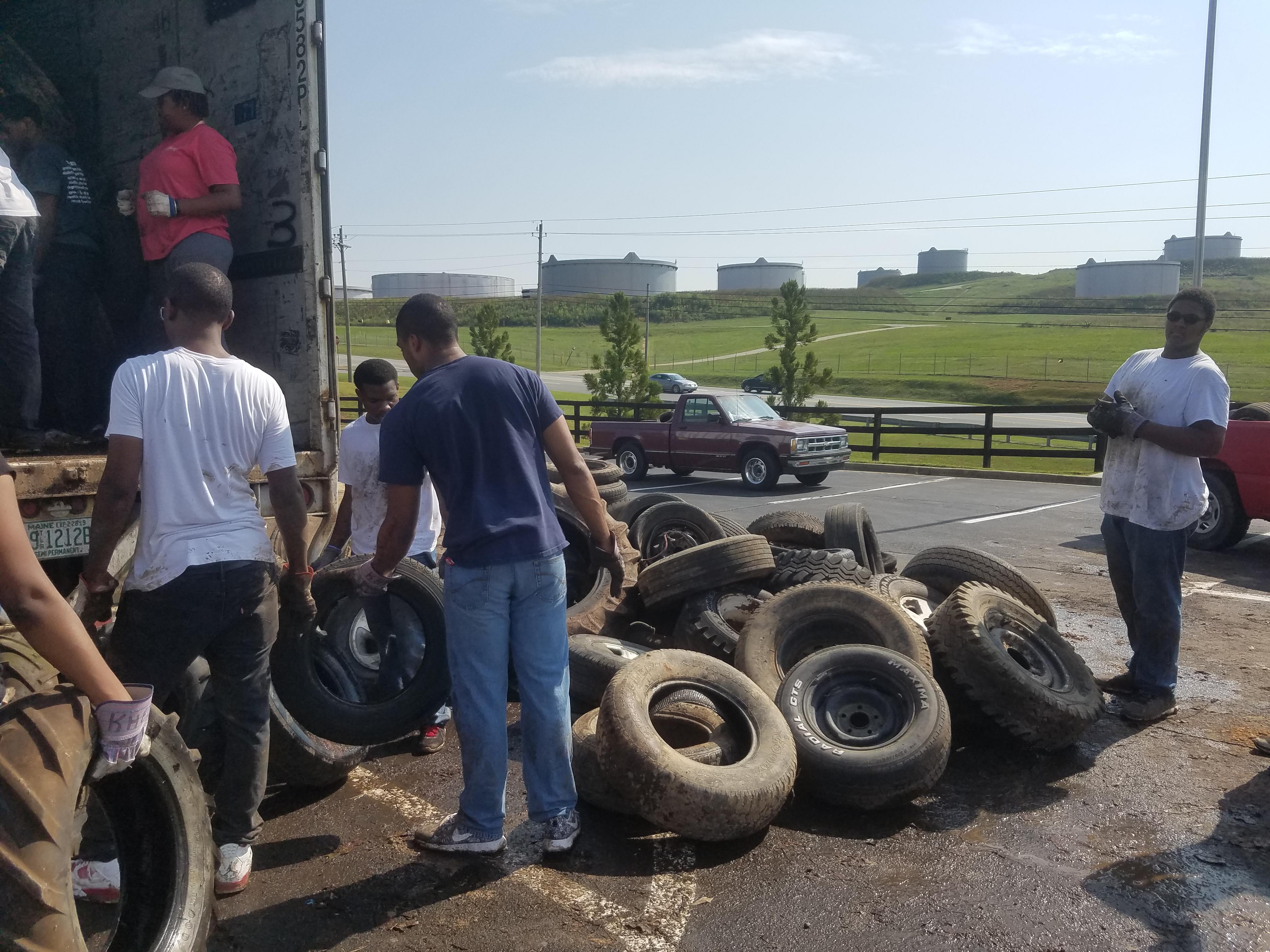 Tire Recycling | Keep Carroll Beautiful